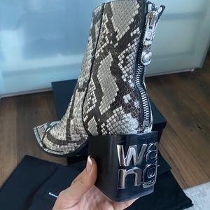Authentic Alexander Wang Parker Boots, 40